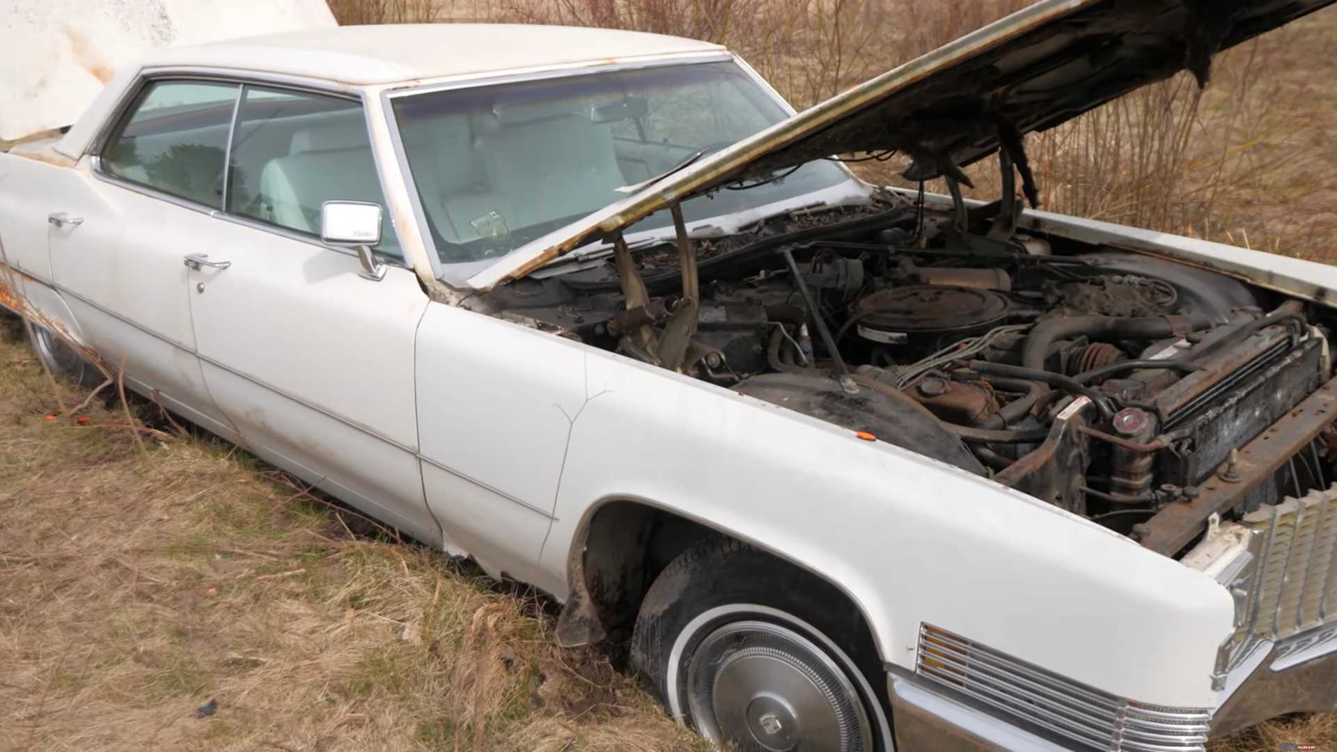 Can Lovable Mechanic Restart 1970 Cadillac After 20 Years In A Field?