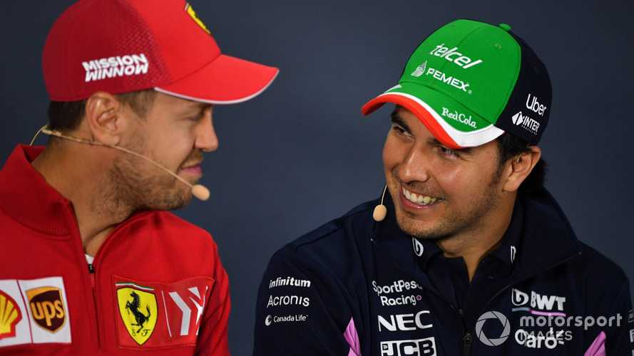 Vettel 'closer to retirement' than to another team - Perez