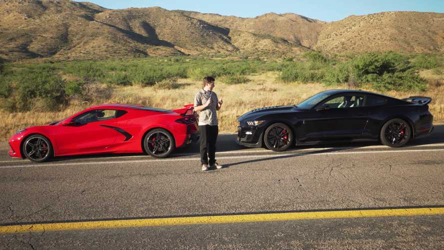 Shelby GT500, Corvette C8 acceleration compared with intriguing results