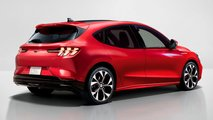 Ford Mustang Mach-E Hatchback Rendering