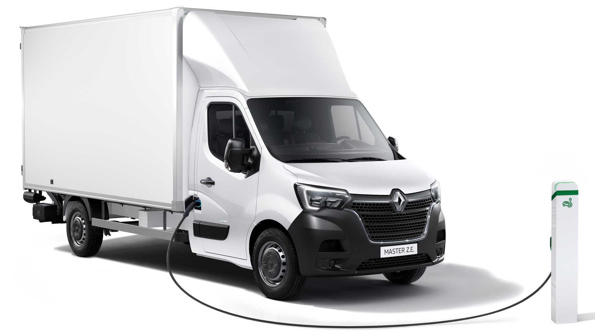 Renault Master Z.E., l'elettrico si rinnova