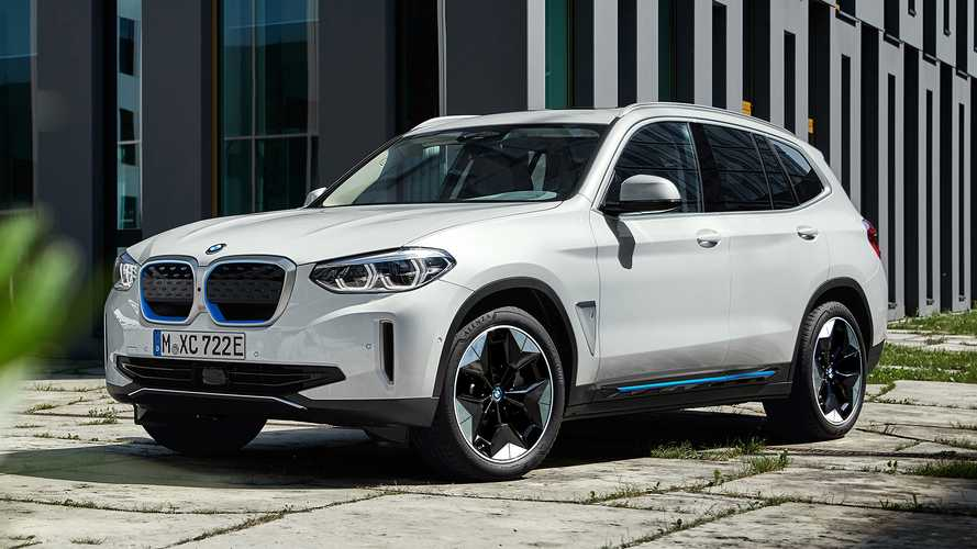 BMW iX3 electric SUV starts at a hefty £61,900