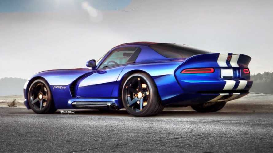 2001 Dodge Viper Reimagined With A Modern Design In New Rendering