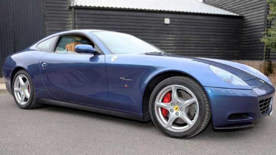 Eric Clapton's Ferrari 612 Scaglietti up for grabs at auction