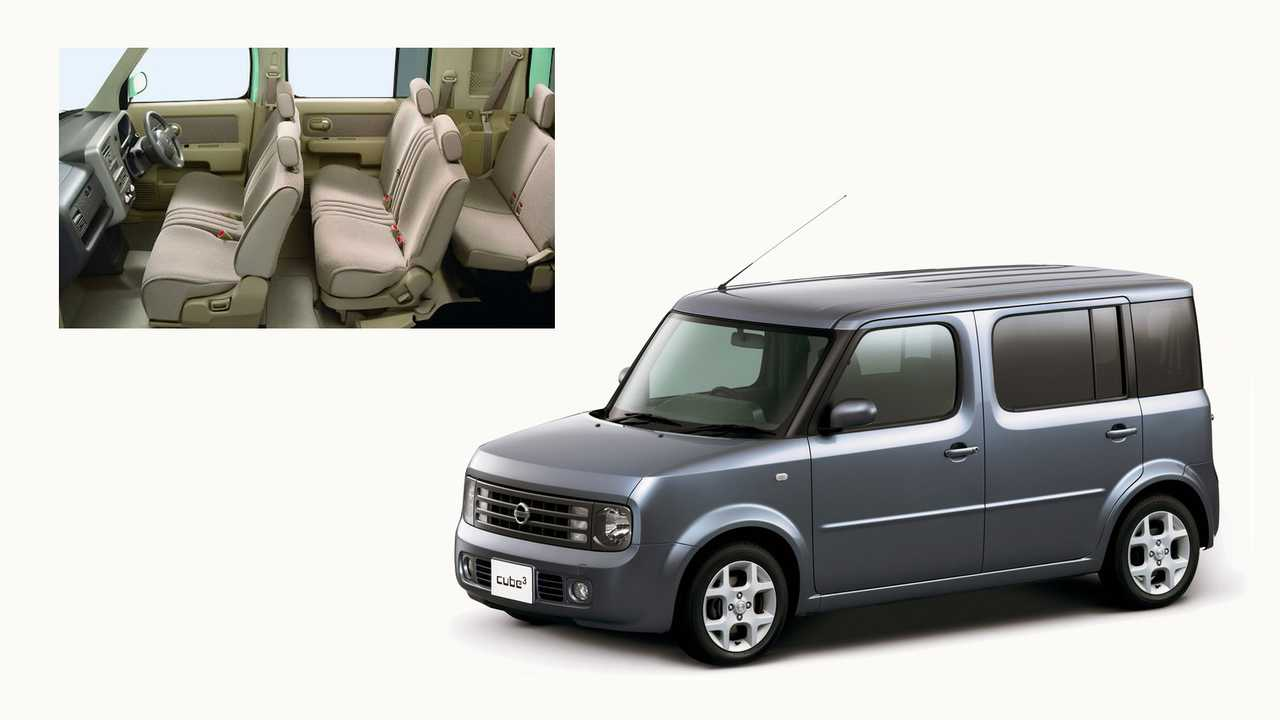 3 место – Nissan Cube³: 3900 мм в длину