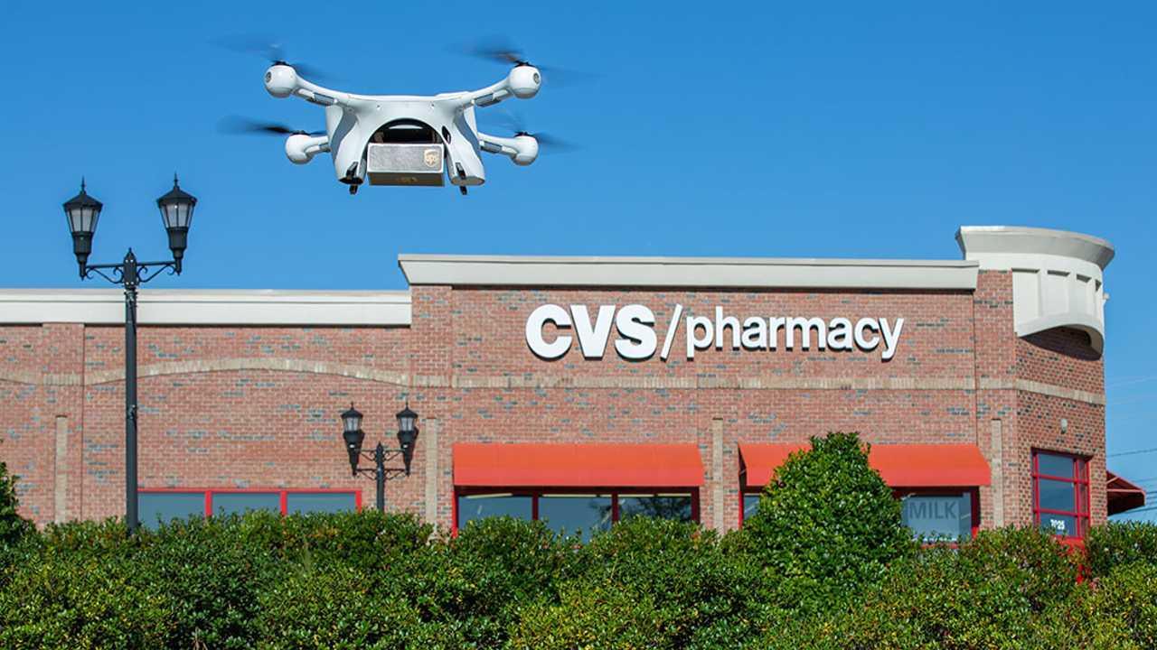 drones de entrega - UPS