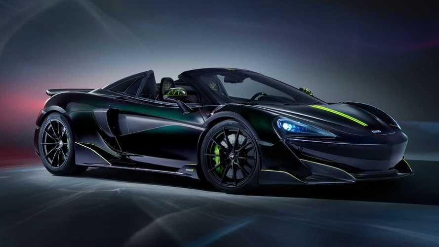 McLaren 600LT Spider Segestria Borealis Goes Arachnid With MSO