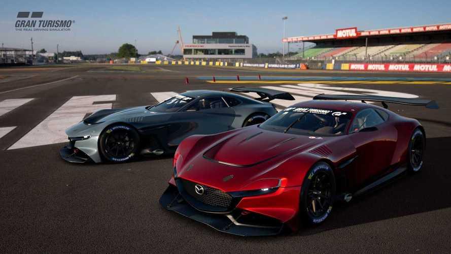 Роторный суперкар Mazda показали на «видео»
