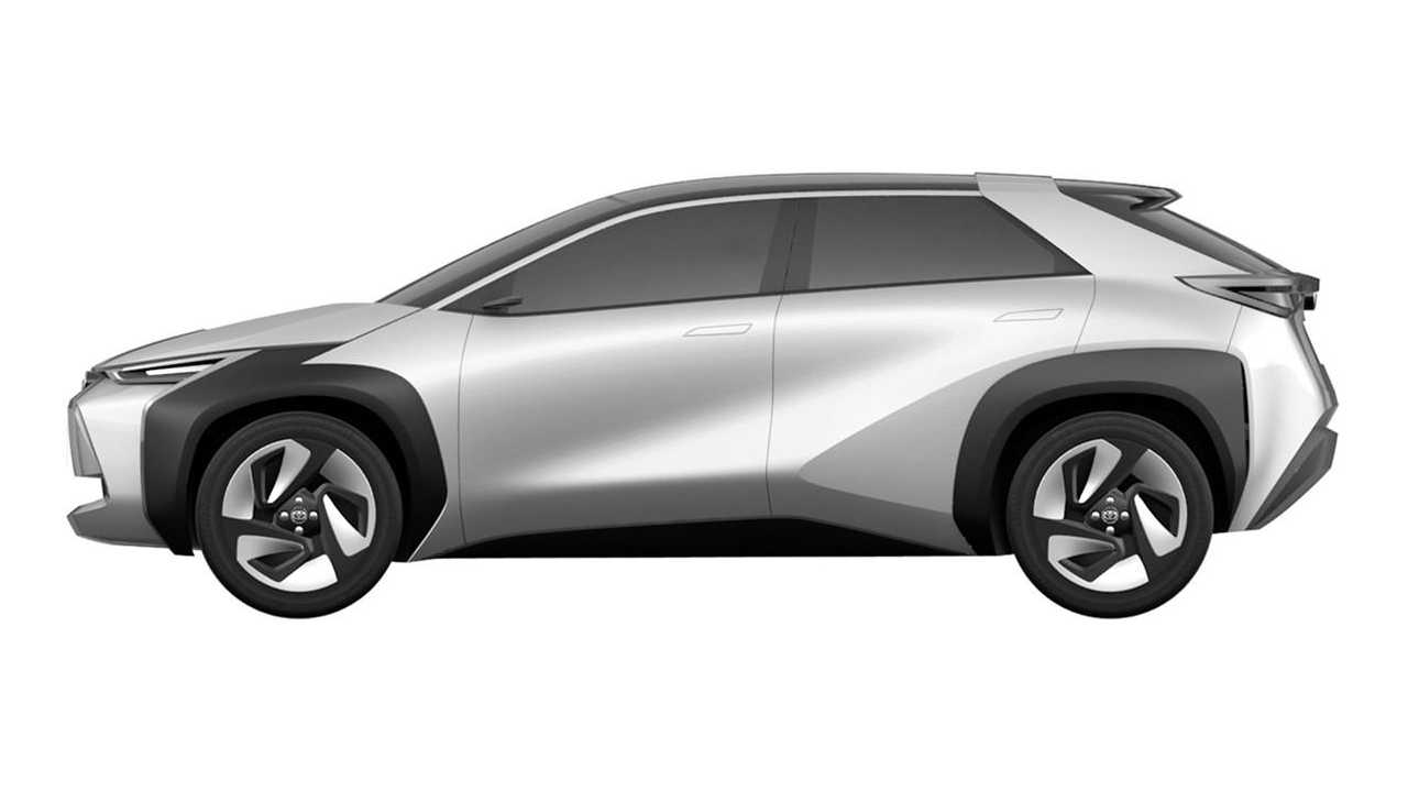 Toyota SUV compact - patents 8