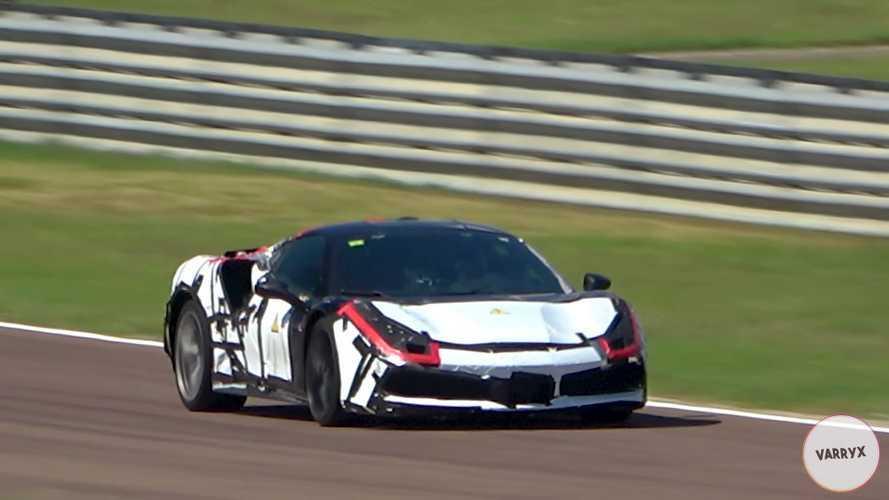 Видео: гибридный Ferrari с V6 замечен на Фьорано