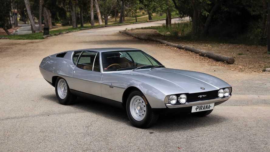 Bertone Pirana: как итальянцы сделали из «Ягуара» Lamborghini