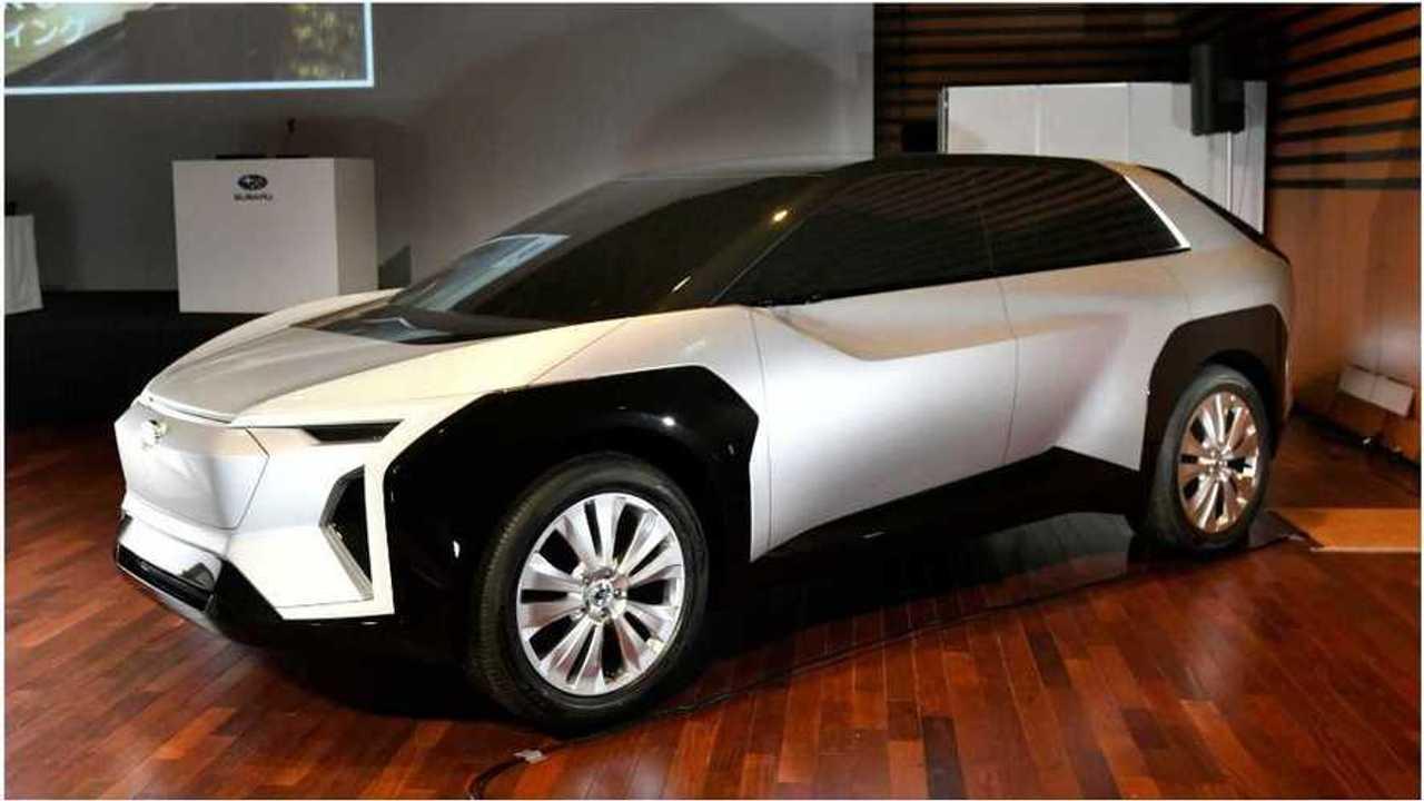 Subaru elettrica concept