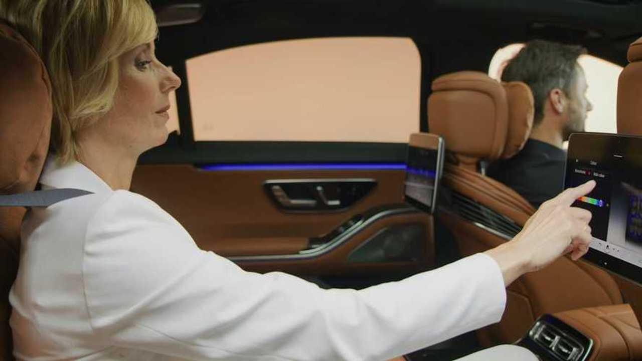 Интерьер Mercedes-Benz S-класса (2020)