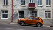 Российский тест обновленного Mitsubishi ASX в Боровске