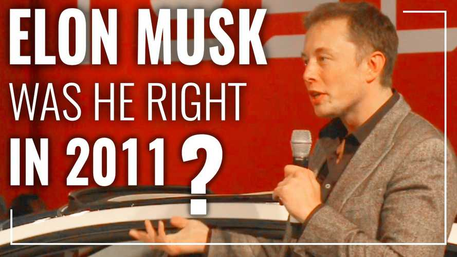 A Close Look At Elon Musk's Bold Claims From 2011: Was He Right?
