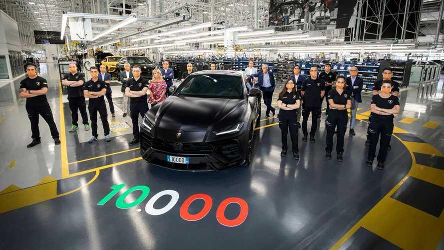 Lamborghini Urus - Déjà 10'000 exemplaires produits