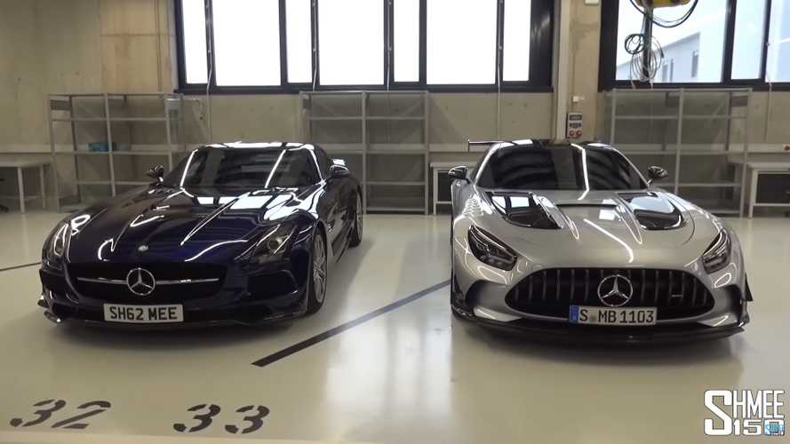 Mercedes-AMG Black Series Old And New Share The Camera In Shmee Video