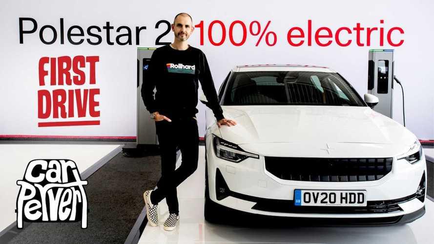 Jonny Smith Checks Out The Polestar 2 EV, Argues It's Not Quite A Tesla Rival