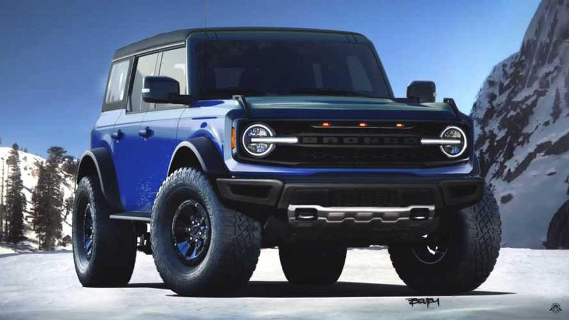 2021 Ford Svt Bronco Raptor Interior