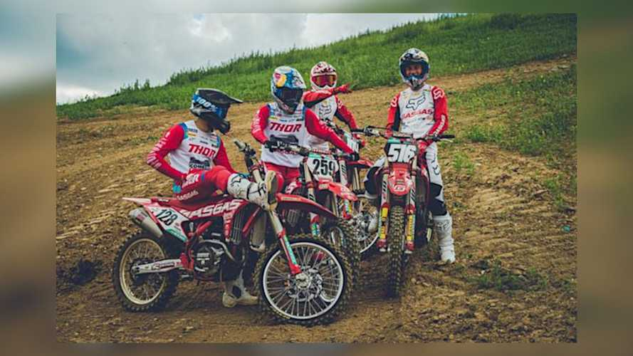 2020 GasGas MX Factory Race Team And Bikes