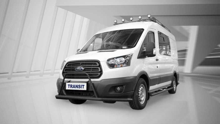Ford представил Transit для российских охотников и рыбаков