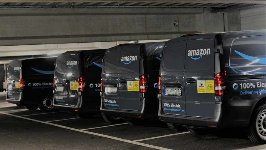 Mercedes-Benz for Amazon, the electric fleet