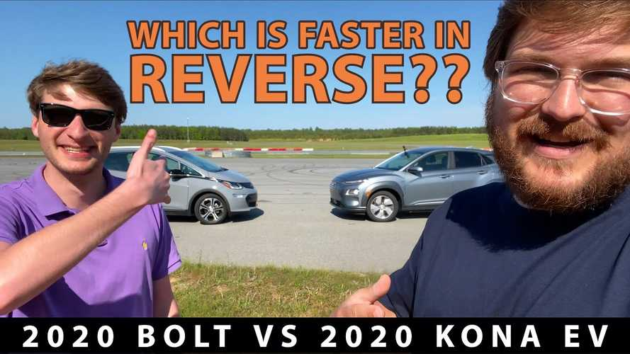 Chevrolet Bolt EV Vs Hyundai Kona Electric Through A Series Of Challenges