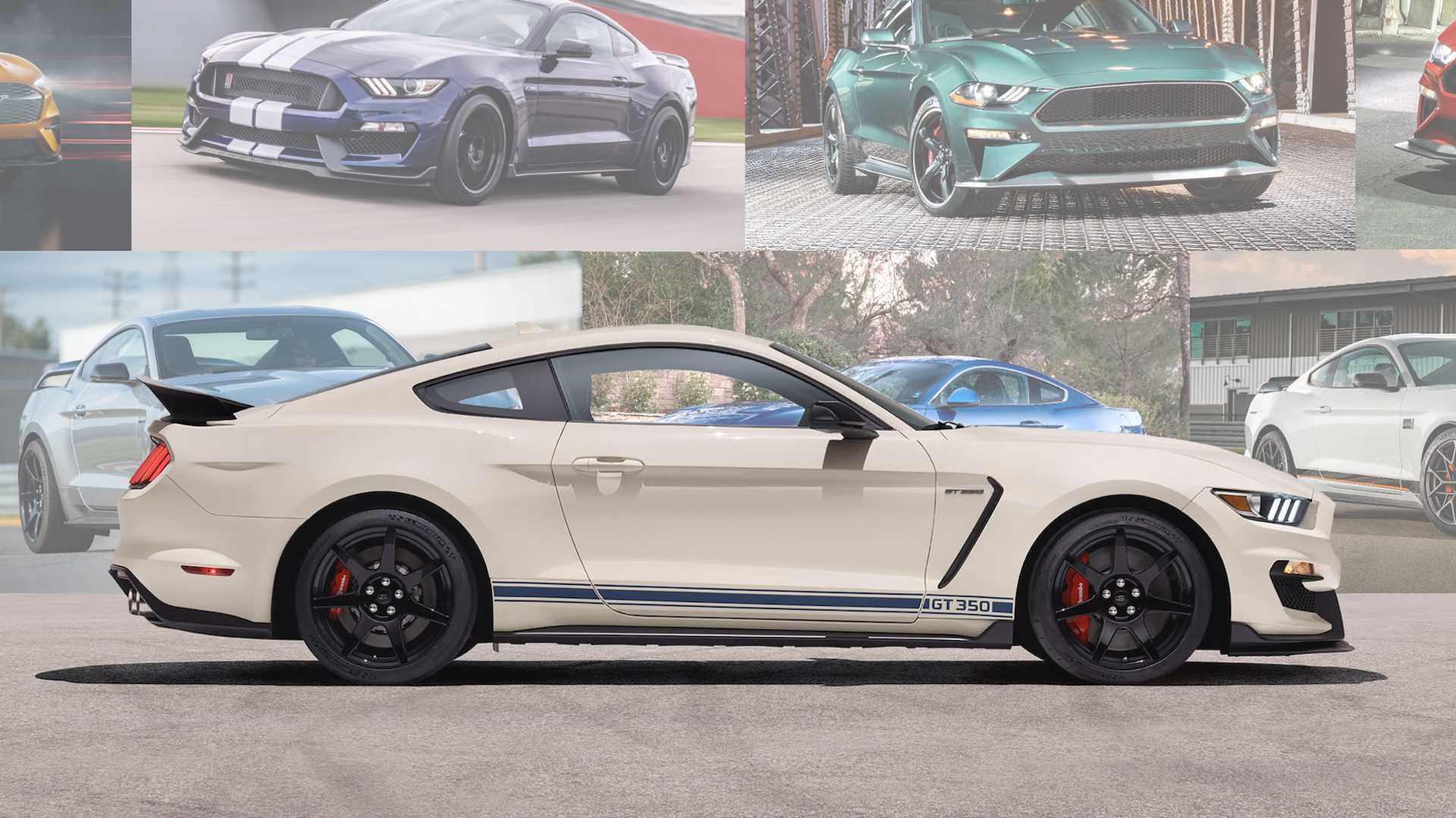Ford Has 13 Different Mustang Models Can You Name Them All