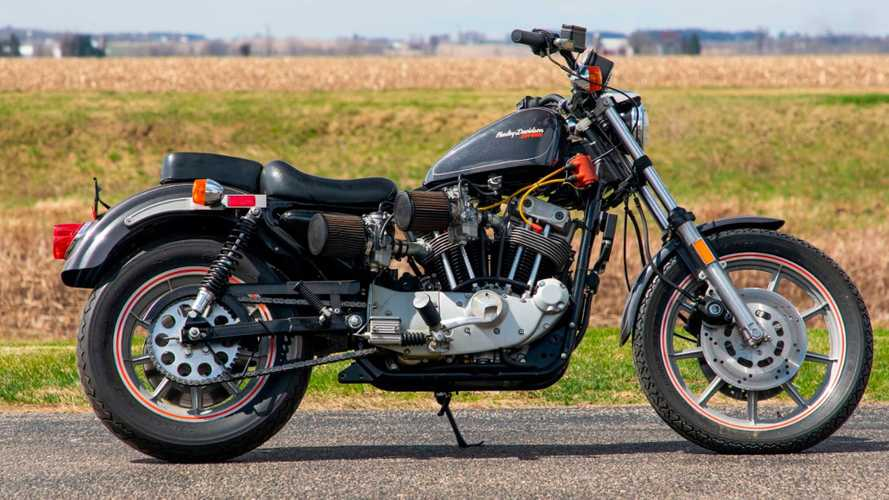 This 1984 Harley-Davidson XR1000 Is A Factory-Built Street Tracker