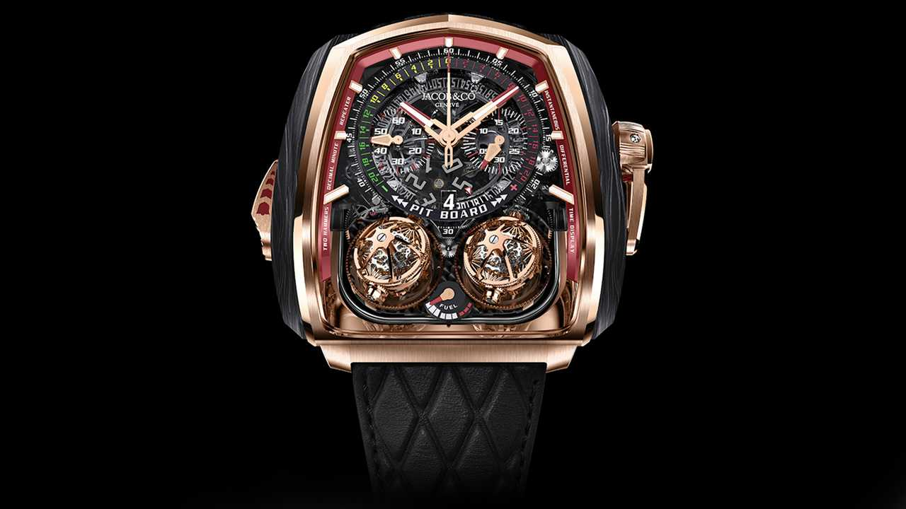 Jacob & Co. Twin Turbo Furious Bugatti 300+ Watch