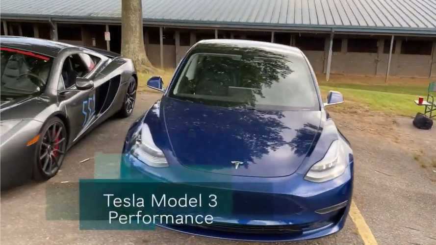 Tesla Model 3 Performance at the autocross: will it beat a McLaren?