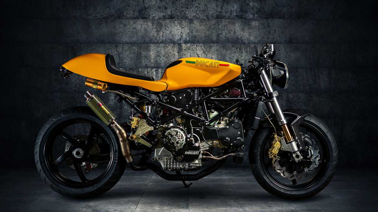This Ducati ST4S Has Been Transformed Into An Aggressive Cafe Racer