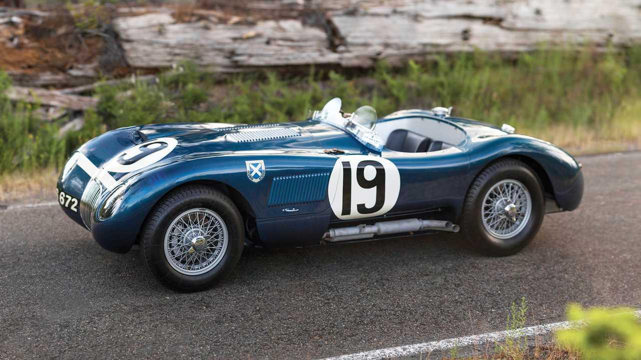 Jaguar C-Type (1953) - 11,61 millions d'euros