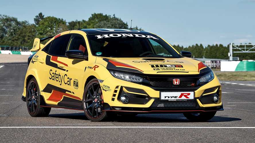 El Honda Civic Type R Limited Edition, Safety Car del WTCR 2020