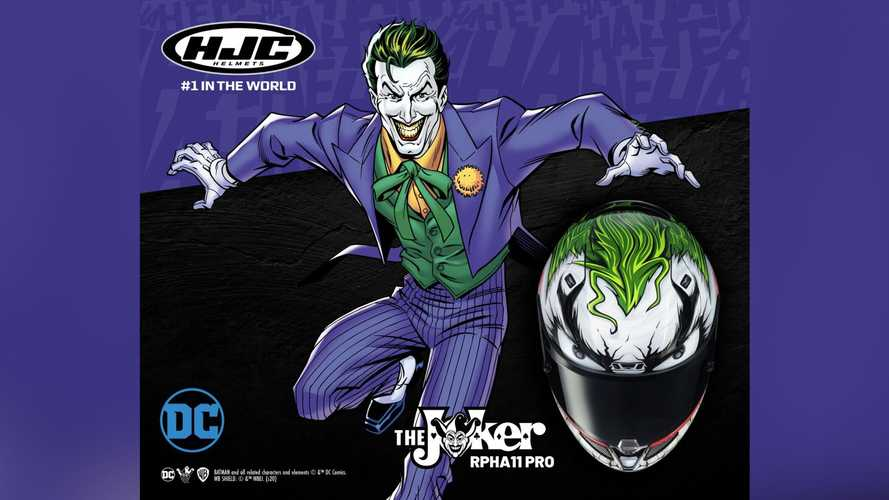 Time To Antagonize The Bat With New HJC RPHA 11 Joker Helmet