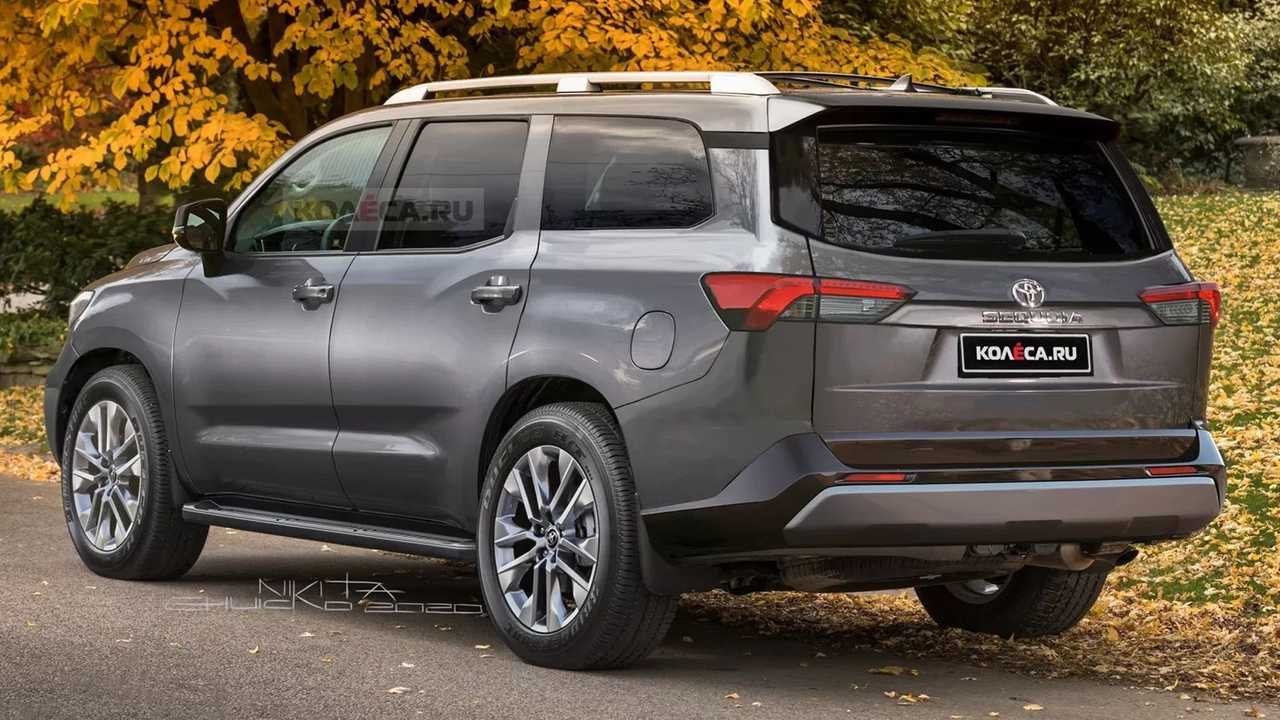 Toyota Sequoia Rendering Rear