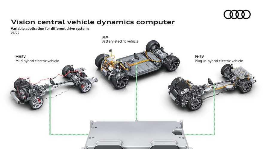 """Audi, un solo """"cervello"""" per tutta l'auto"""