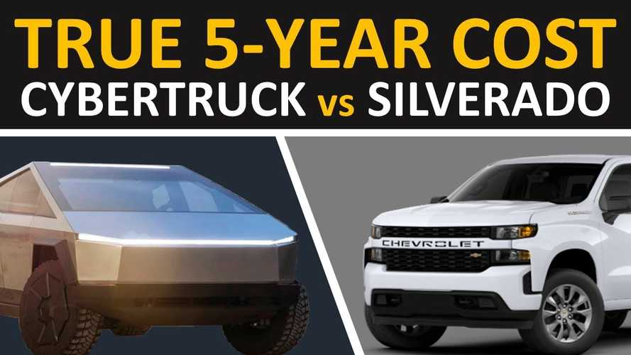 Tesla Cybertruck Vs Chevrolet Silverado: 5-Year Ownership Cost Compared