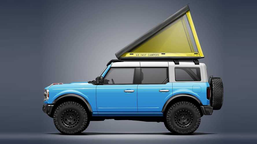 Go Fast Campers SuperLite Rooftop Tent On 2021 Ford Bronco