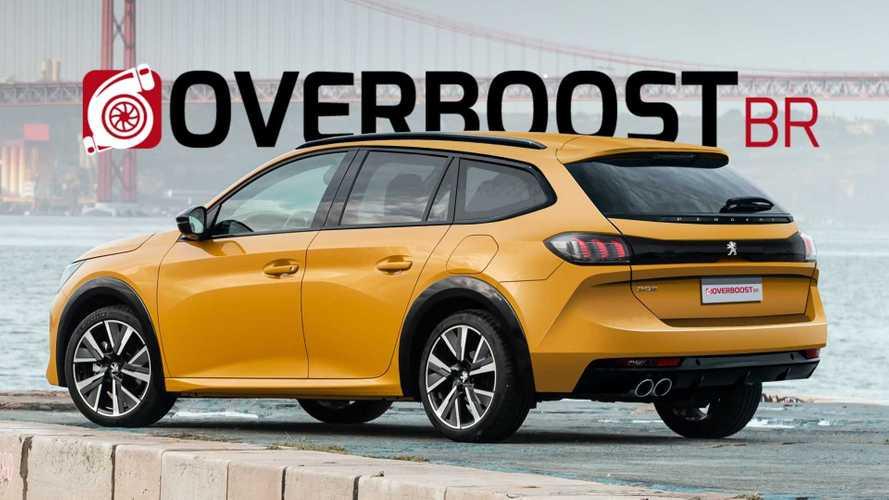 ¿Y si saliera al mercado el Peugeot 208 SW 2021?