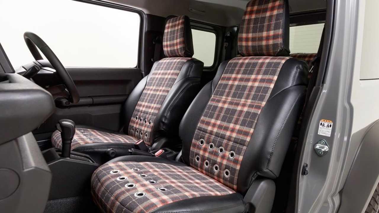 Suzuki Jimny «piccola D.» Da Damd Interior