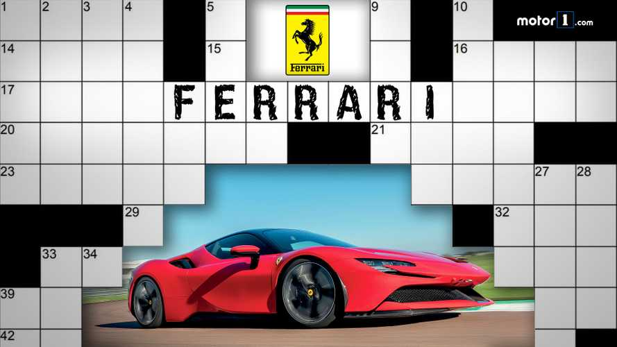 Ferrari, il cruciverba di Motor1.com