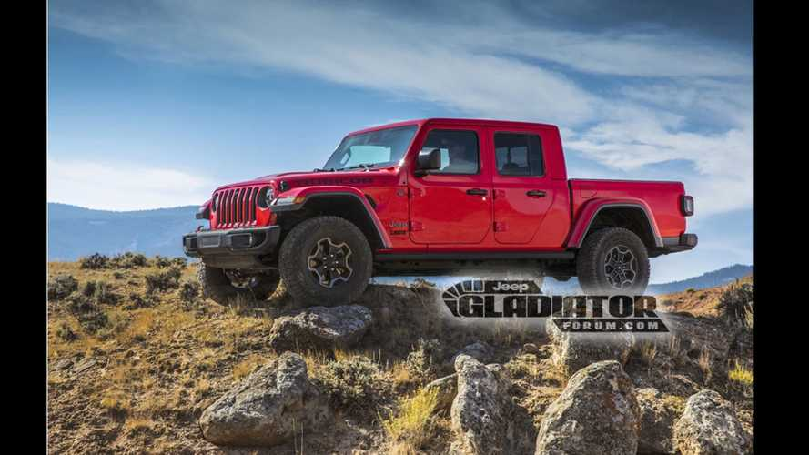 Leaked Jeep Gladiator Photos