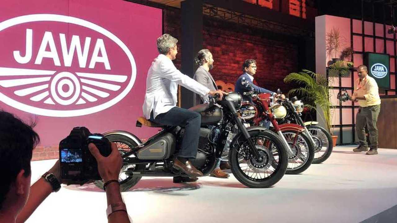 Jawa Three New Models