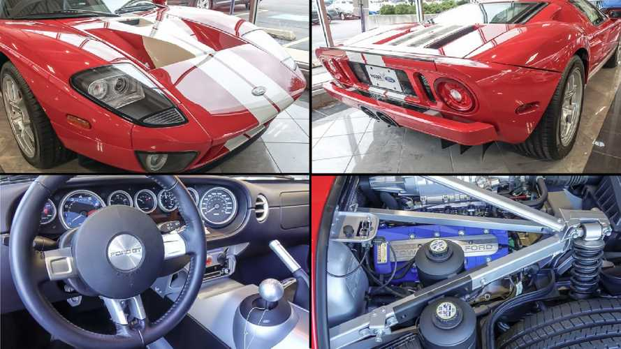 Ford dealer selling 'new' 2005 GT for £350,000