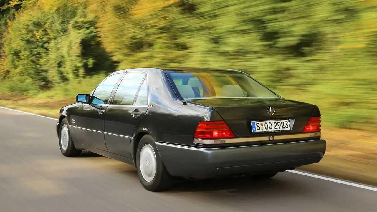 Mercedes 600 SEL W140 Test