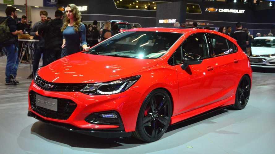 Salão de SP: Chevrolet Cruze Sport6 SS é versão preparada com 300 cv