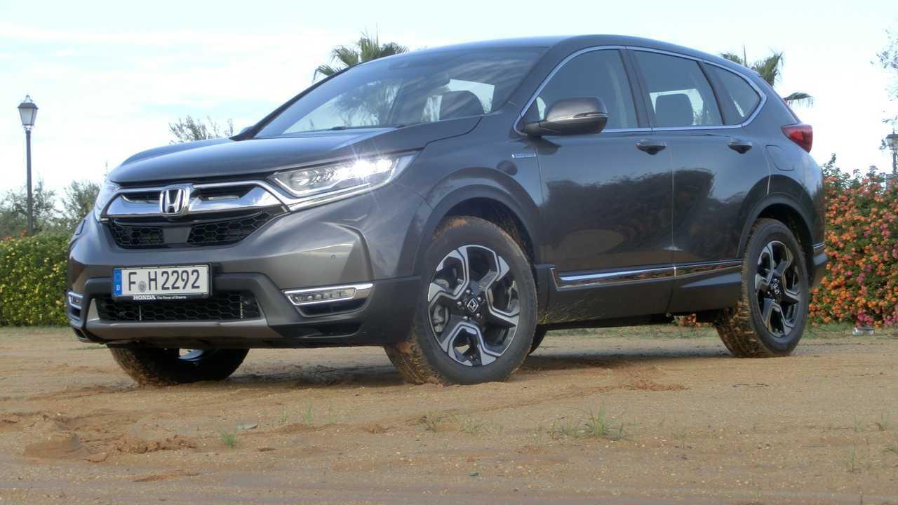 Honda CR-V Hybrid 2019 Test