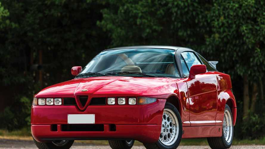 Alfa Romeo SZ: герой своего времени
