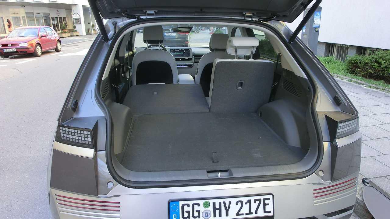 Hyundai Ioniq 5: Kofferraum
